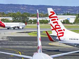 Qantas, Virgin planes in mid-air close call over Ipswich