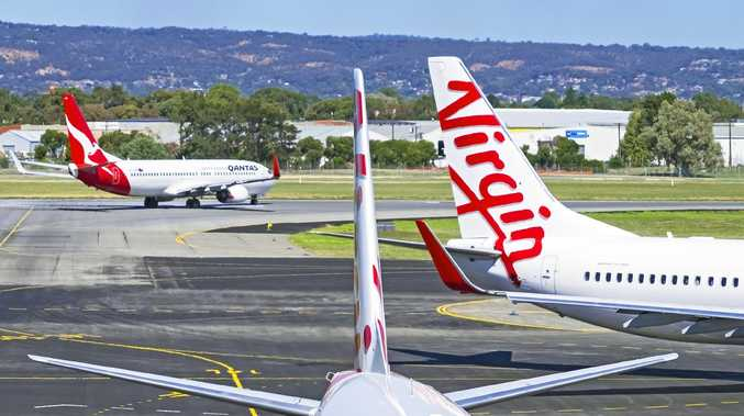 Qantas, Virgin planes in mid-air close call over Brisbane