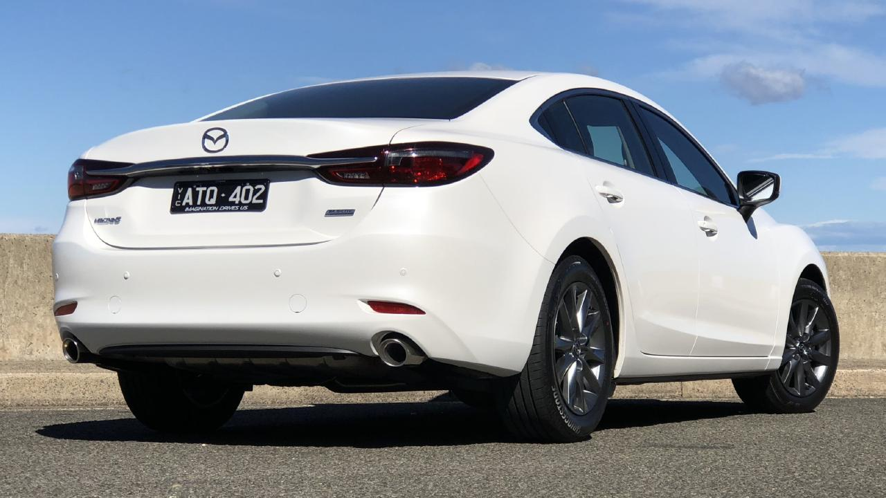 The Mazda6's design is sharp looking but still classy. Picture: Joshua Dowling.