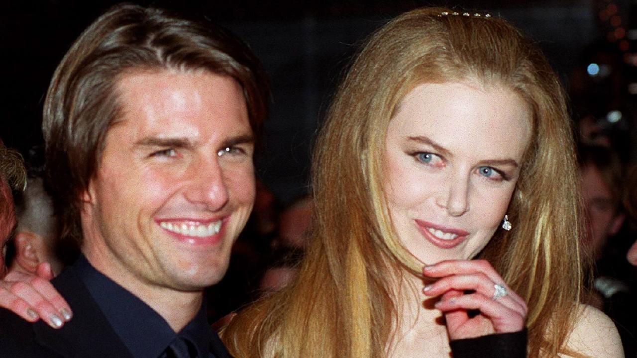 Tom Cruise and Nicole Kidman.