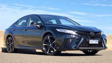 The Camry has head-turning looks. Picture: Joshua Dowling.