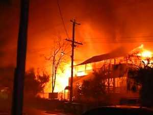 Massive fire rips through historic Brisbane school