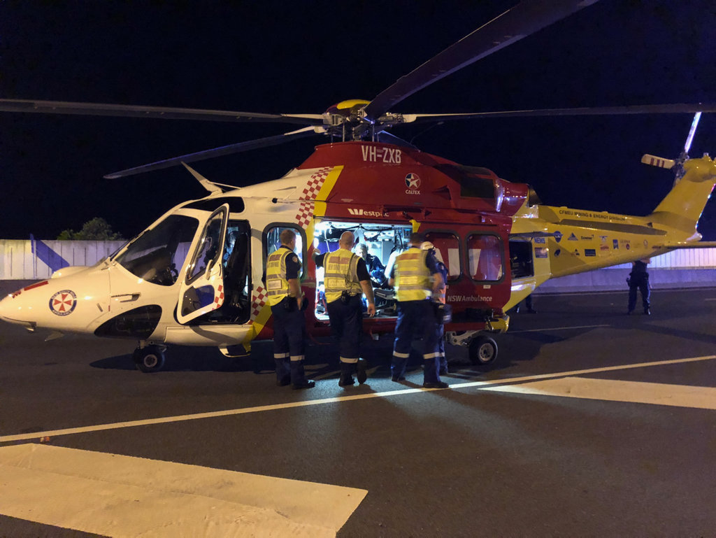 A woman has suffered serious injuries after falling in a national park.