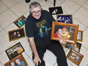 CELEB COLLECTION: Grant Orford has been collecting