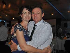 Adam and Rachel Belot at the Pinefest Ball