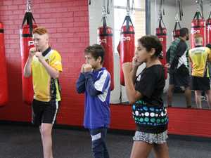 FIT FOR LIFE: Eight enthusiastic youngsters enjoyed