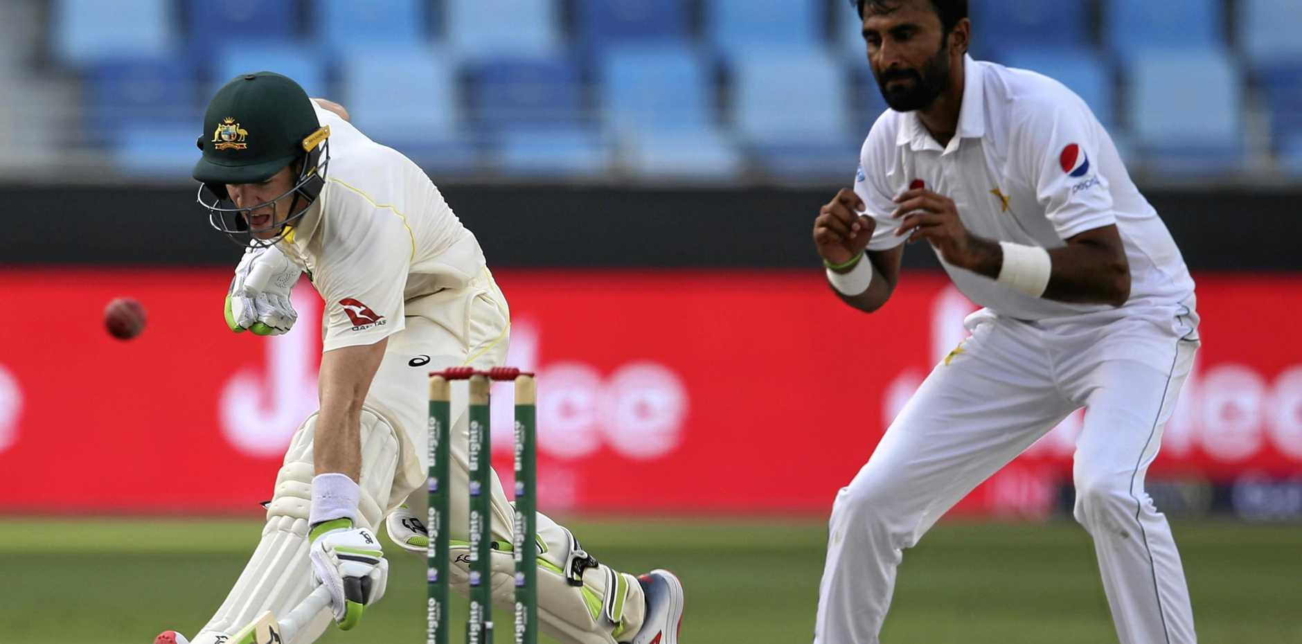 COMEBACK: Australian captain Tim Paine was one of the players that showed fight during the first test against Pakistan that ended in a draw.
