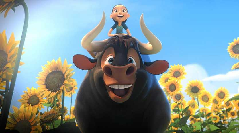 HEAD TO THE MOVIES: A scene from the movie Ferdinand. Supplied by Twentieth Century Fox.