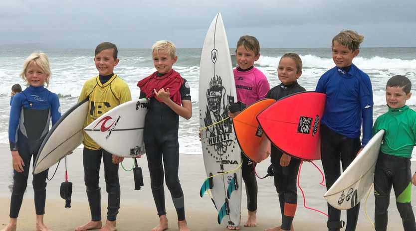 GOLDEN DAYS: The Noosa Boardriders Club is turning 50 years and its future is in good shape with plenty of talented grommets onboard.