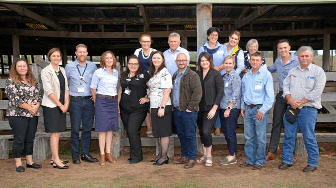 BUS TRIP: BIEDO took a bus of of North and South Burnett business owners, government representatives and industry representatives to the WBBROC Regional Economic Development Growth Forum in Bundaberg.