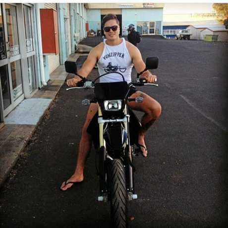 Javen O'Neill's, 24, is accused of the murder of Byron Bay DJ Chris Bradley. Photos from Mr O'Neill's Facebook profile.