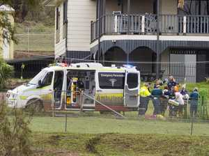 Coast boy crushed by tree in critical condition