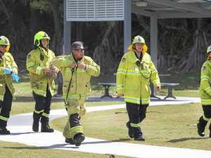 Emergency crews were called to Duranbah.