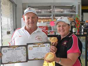 Local pies hit the spot for national judges