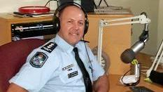 BACK IN ACTION: Murgon Inspector Scott Stahlhut makes his radio debut on Cherbourg Radio 94.1.