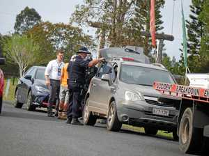 Fraser Coast Police discuss manhunt
