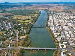 FLYING HIGH: Rockhampton, you look a picture from above