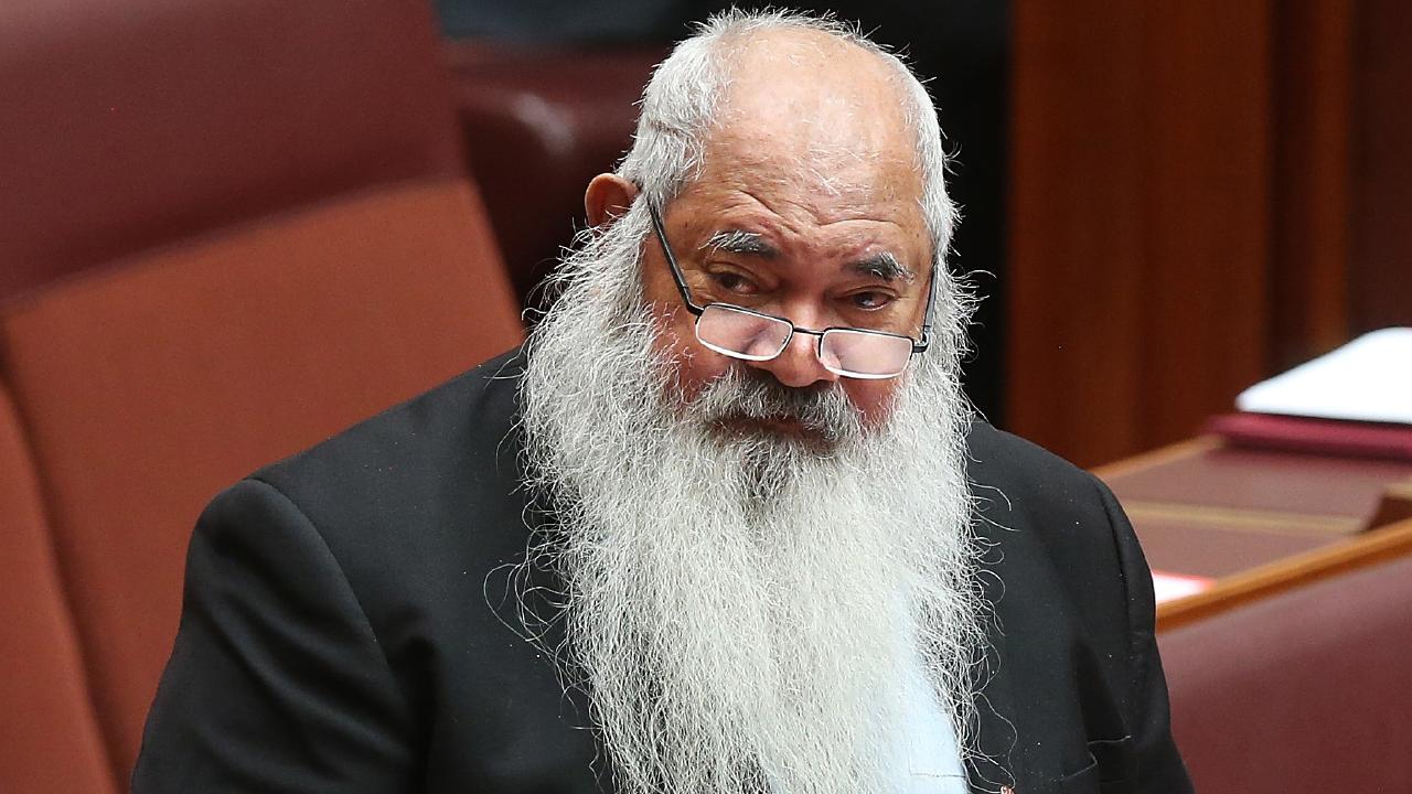 Senator Patrick Dodson has demanded Melissa Price apologise. Picture: Kym Smith