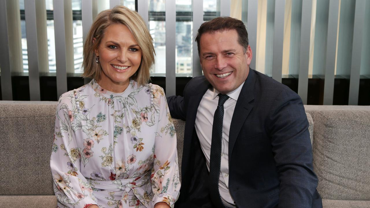 There was fierce speculation last month that Today co-host Karl Stefanovic was about to be dumped. Picture: Julie Kiriacoudis