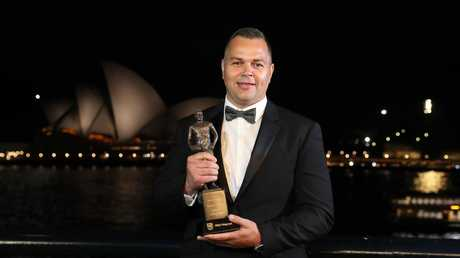 Dally M coach of the year Anthony Seibold is on the Broncos' radar.