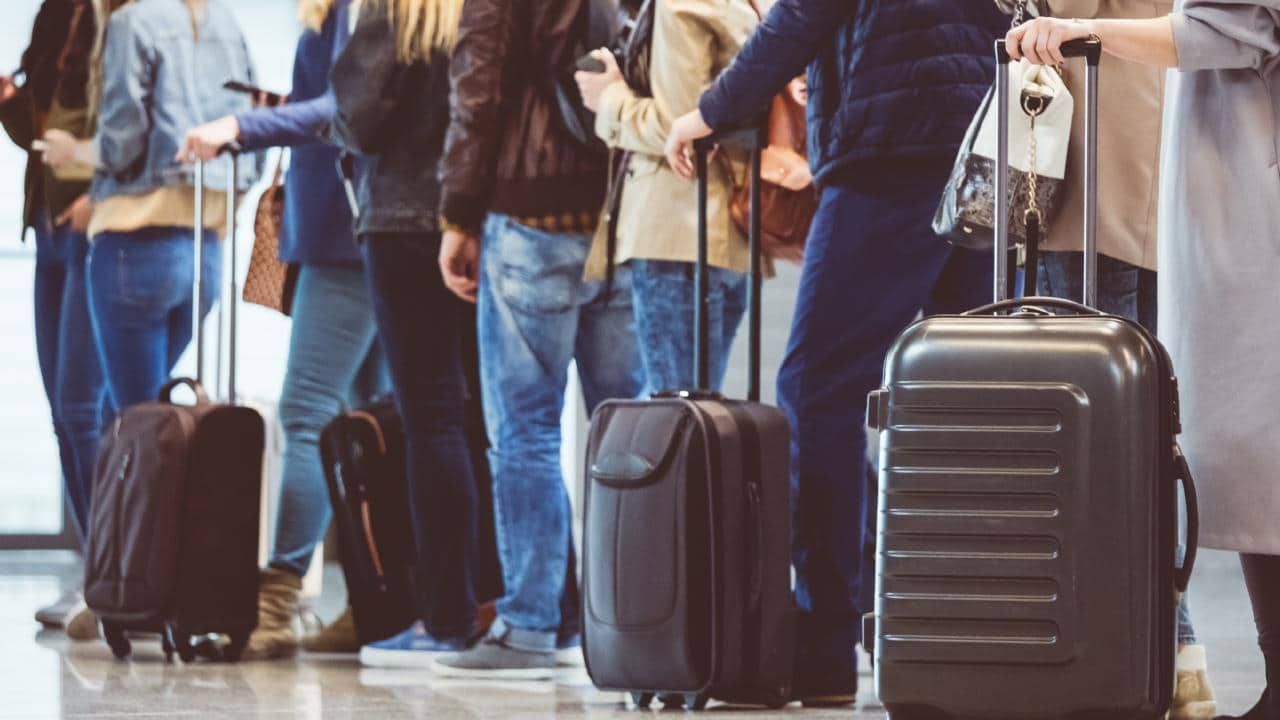 Officers at airports could get new powers. Picture: iStock