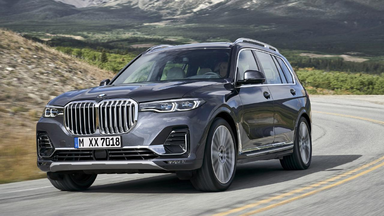 The BMW X7 is due to land in Australia during the first half of 2019.