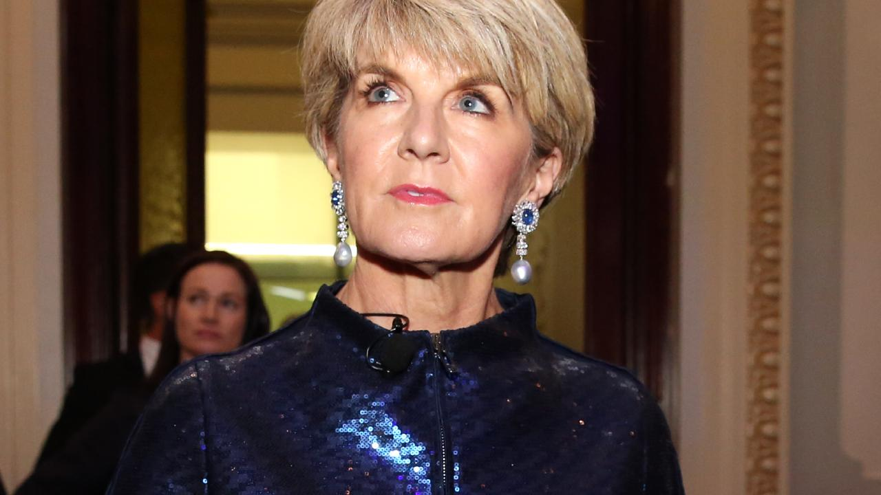 Julie Bishop. Pic: Jane Dempster/The Australian.