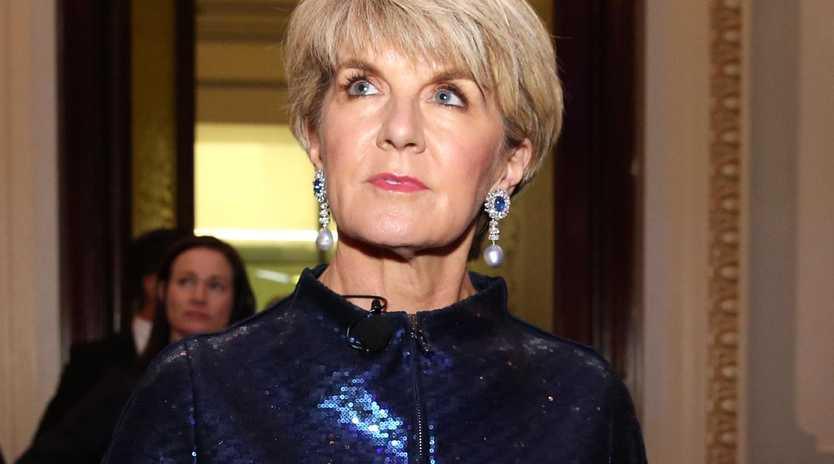 Julie Bishop. Pic: Jane Dempster/The Australian.