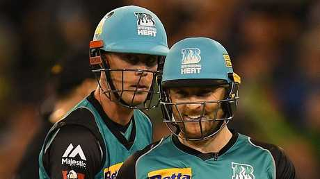 Chris Lynn (left) and Brendon McCullum have the double in the opening round.