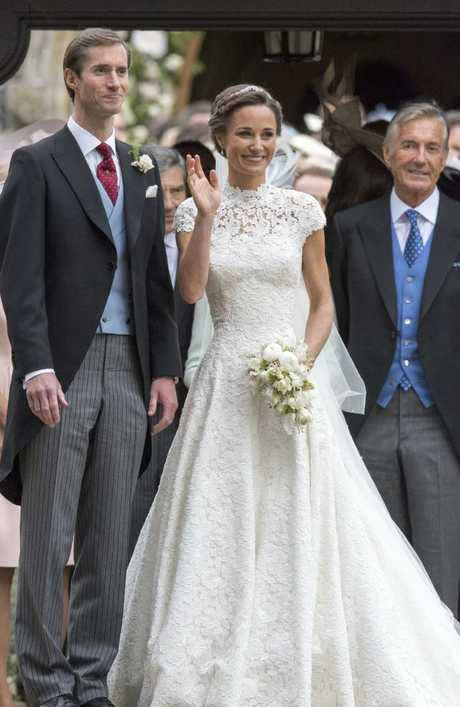 Pippa Middleton and James Matthews at their 2017 wedding