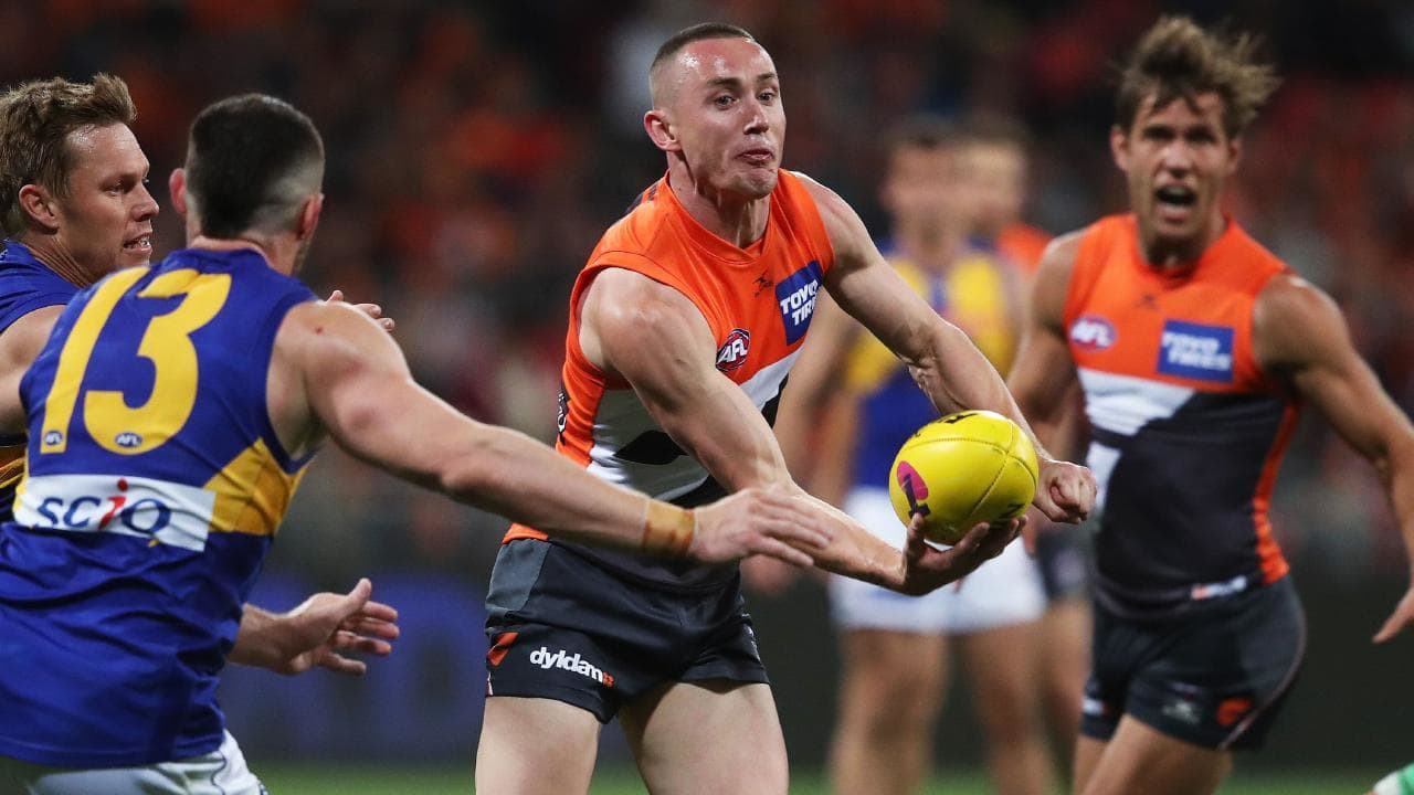 Tom Scully is a big loss for the Giants. Picture: Phil Hillyard