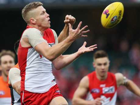 Dan Hannebery makes the move from Sydney to St Kilda. Picture: Phil Hillyard