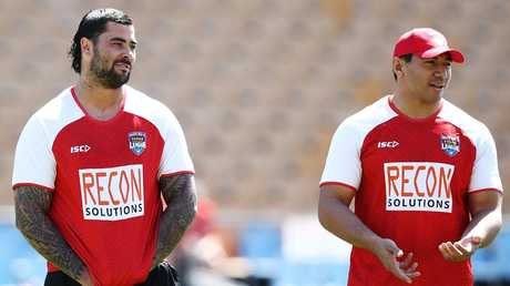 Andrew Fifita and Jason Taumalolo will start for Tonga.
