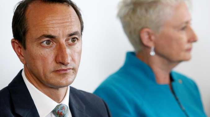 Dave Sharma and Kerryn Phelps.