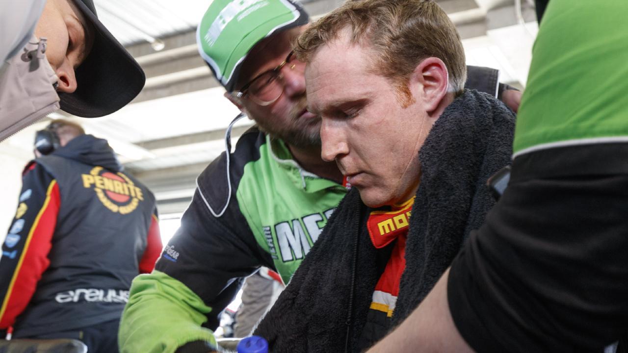 The Erebus Motorsport driver pushed himself too hard.
