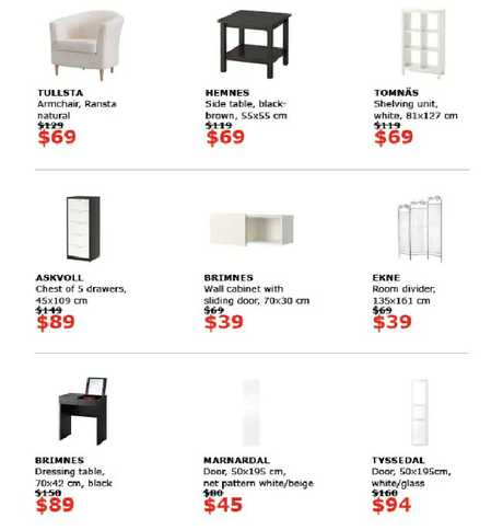 IKEA is launching a huge sale across stores nationwide.