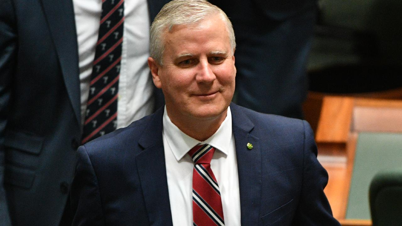Under pressure: Nationals leader Michael McCormack. Picture: AAP Image/Mick Tsikas