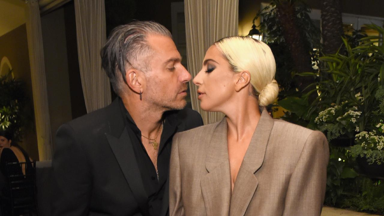 Lady Gaga and Christian Carino are engaged. Picture: Getty Images