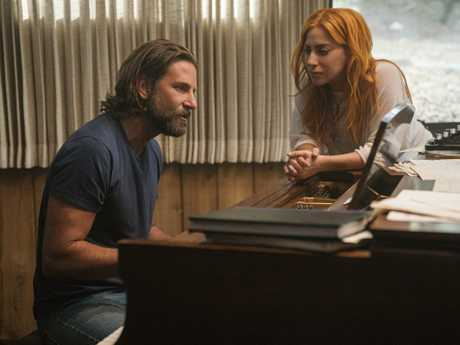 Lady Gaga has won rave reviews for her performance opposite Bradley Cooper in A Star Is Born. Picture: AP