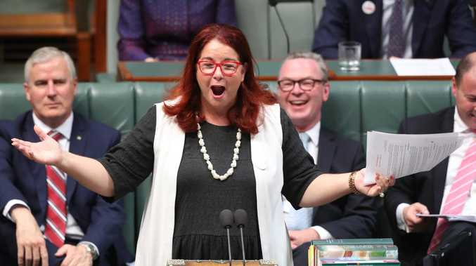 Environment Minister Melissa Price has been accused of making bizarre and offensive comments to a former Pacific country president and Nobel prize nominee. Picture: Kym Smith