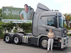 Crikey! Australia Zoo snaps up a new Scania