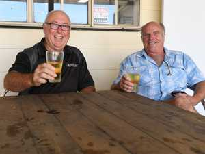 Garry Eldridge from Canberra and local Stephen Young