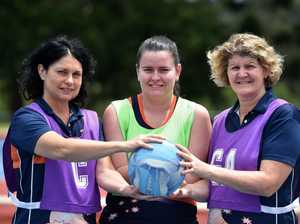 Walking netball is about to start at the Nambour