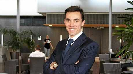BEST STUDENT: Michael Jefferies won  Law Student of the Year from the prestigious Lawyers Weekly Australian Law Awards 2018.