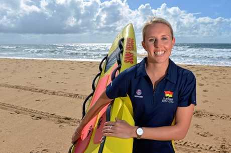 Surf Summer Girl entrant Jessica Simpson.