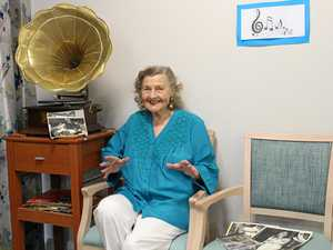 Shirley Simmons was our very own Vera Lynn
