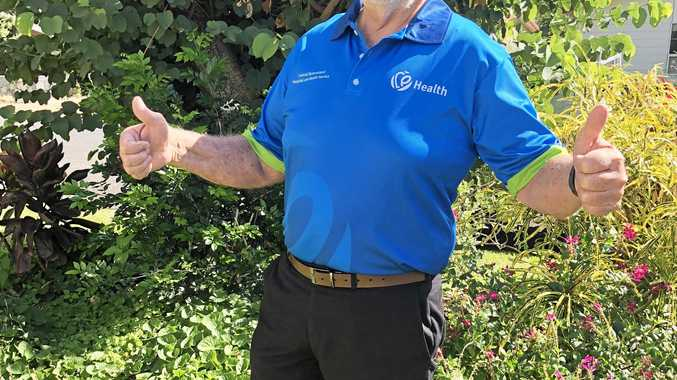 WAIST WHITTLER: Paul Bell smashed his CQ Health Challenge, losing 18kg in 16 weeks.