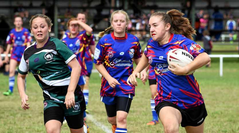 GIRLS FOOTY: There will be opportunities for girls in the South Burnett.