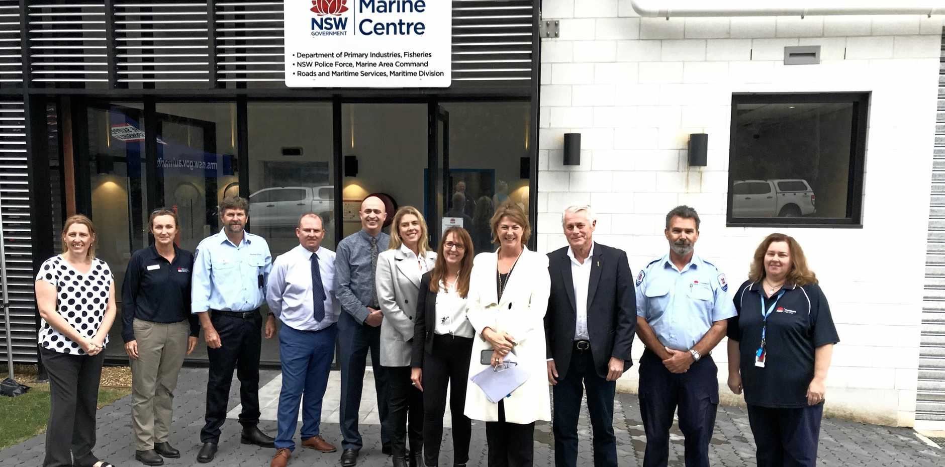 The multi purpose Tweed Heads Marine Centre was opened by Minister for Roads, Maritime and Freight Melinda Pavey and Tweed MP Geoff Provest