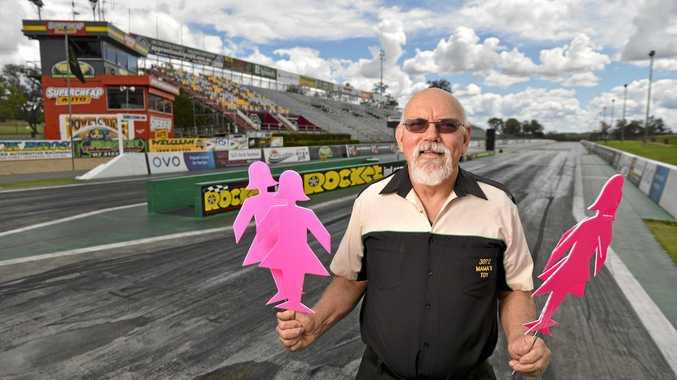 IN HONOUR: Warren Sander is hosting a mini field of women event in memory of his late wife Terri.